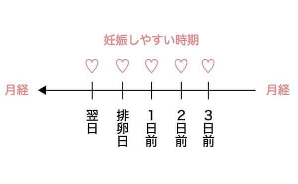 カレンダー 排卵 日