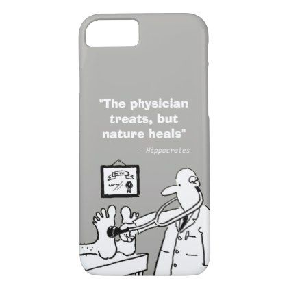 Inspirational Medical Quote and Funny Image iPhone 8/7 Case - funny quote quotes memes lol customize cyo