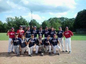 Wyoming Cowboys 2013 Wallaceburg Junior Baseball Tournament Champions #wallaceburgwarriors