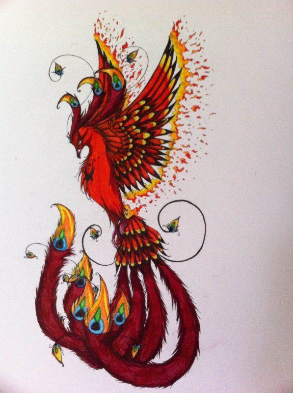 Les 25 meilleures id es de la cat gorie mod le de tatouage de ph nix sur pinterest phoenix - Idees loisirs creatifs gratuit ...