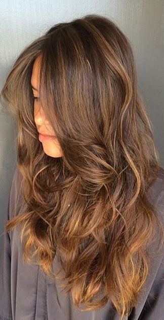 Subtle And Sunkissed Brunette Highlights Hair Color Idea