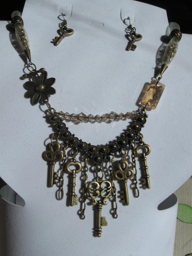 Keys and crystals