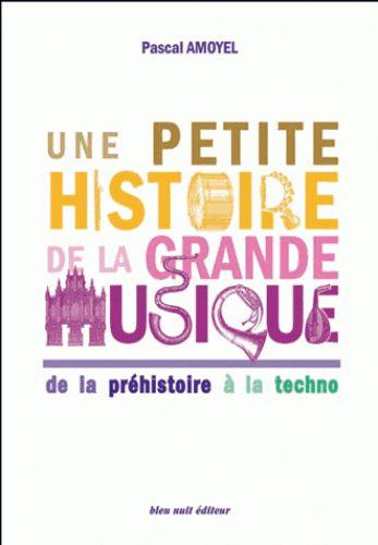 Une petite histoire de la grande musique : de la préhistoire à la techno / Pascal Amoyel. - Bleu nuit, 2015       78 AMO      http://hip.univ-orleans.fr/ipac20/ipac.jsp?menu=search&index=.IN&term=978-2-35884-051-4