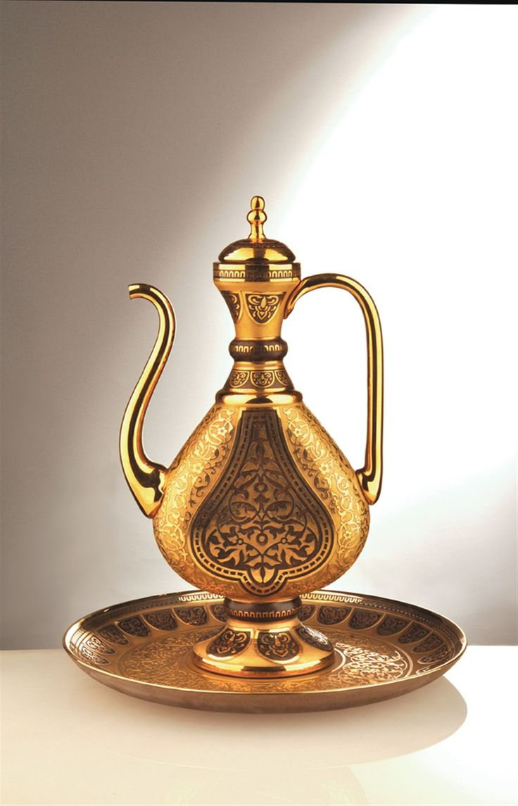 My Turkish glass vase for pouring scented rose water back in Ottoman times! Decorium - Products