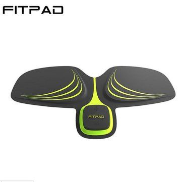 Fitpad Smart Electronic ABS Abdominal Muscle Building Equipment Body Shaper Fitness Gel Tape Belt Sale - Banggood.com