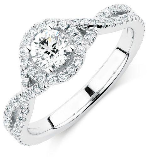 1 Carat TW Diamond Adagio Ring #michaelhill