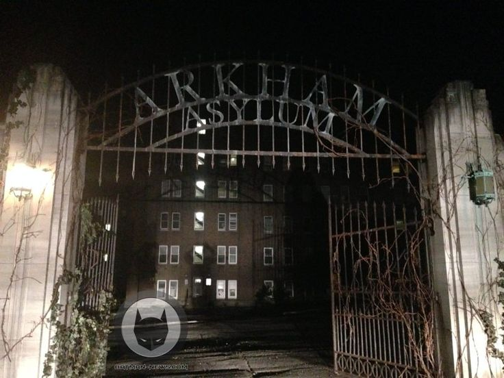 Gotham - your first look at Arkham Asylum from the set of Gotham!