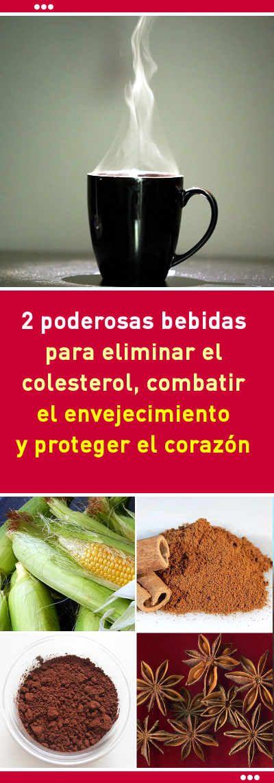 2 poderosas bebidas para eliminar el colesterol, combatir el envejecimiento y proteger el corazón