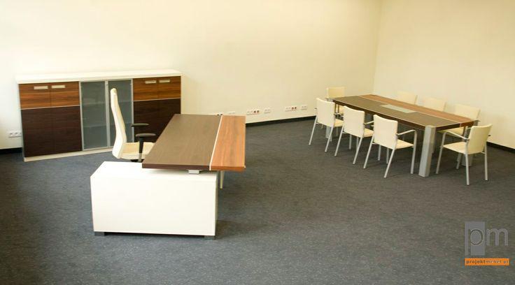 Meble gabinetowe VIP , realizacja dla Montal z Chorzowa, http://www.projektmebel.pl/realizacje/gabinety