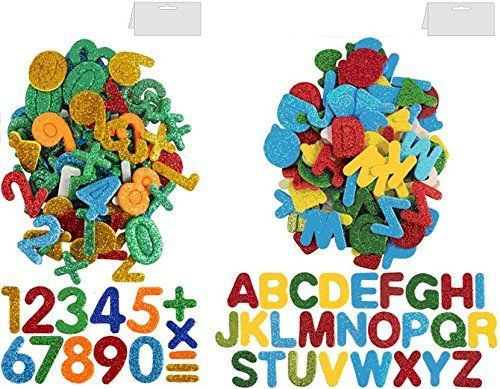 #PopularKidsToys Just Added In Store! Pack of Glitter Foam Letters & Numbers Self Adhesive Stickers Card Making Fun Educational Kids -  Glitter Foam Letters Self Adhesive Stickers Card Making Fun Educational Kids Ideal for card making crafts and making words art Craft and fun Self adhesive just peel and stick Approx 60 assorted Letters per Pack Approx 14 grams in Pack Glitter Foam Letters & Numbers Self Adhesive Stickers Card Making Fun Educational Kids Ideal for card