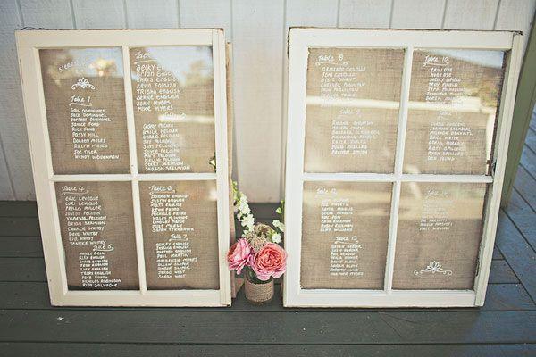 window seating charts // via ruffledblog.com