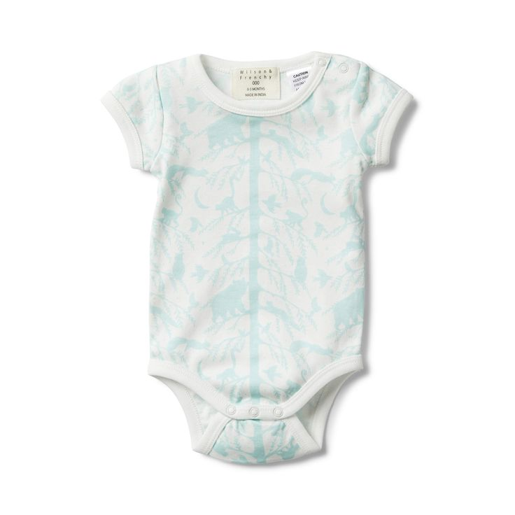 Wilson and Frenchy - Short Sleeve Bodysuit