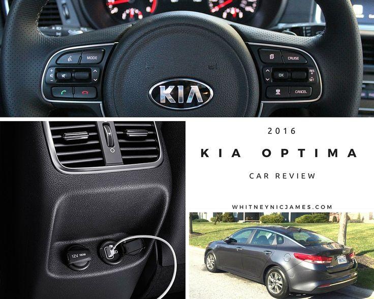 2016 Kia Optima Review