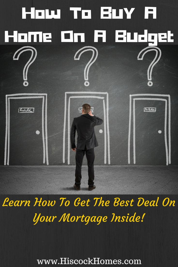 Buying on a Budget: How to Get the Best Deal on Your Mortgage - http://hiscockhomes.com/real-estate-blog/buying-on-a-budget-how-to-get-the-best-deal-on-your-mortgage/ via @hiscocksoldteam @totalmortgage