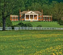 James Madison's Montpelier is located right here in Orange County, Virginia...a tourist attraction, but, also many events are held here such as the annual Montpelier Wine Festival in May and the Montpelier Hunt Races held in November.