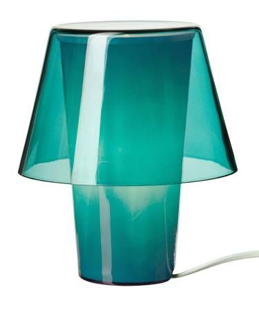 """Bright Ideas: It's small (8"""") but packs a major punch. Just the thing to bring flair to any dark corners around the house."""