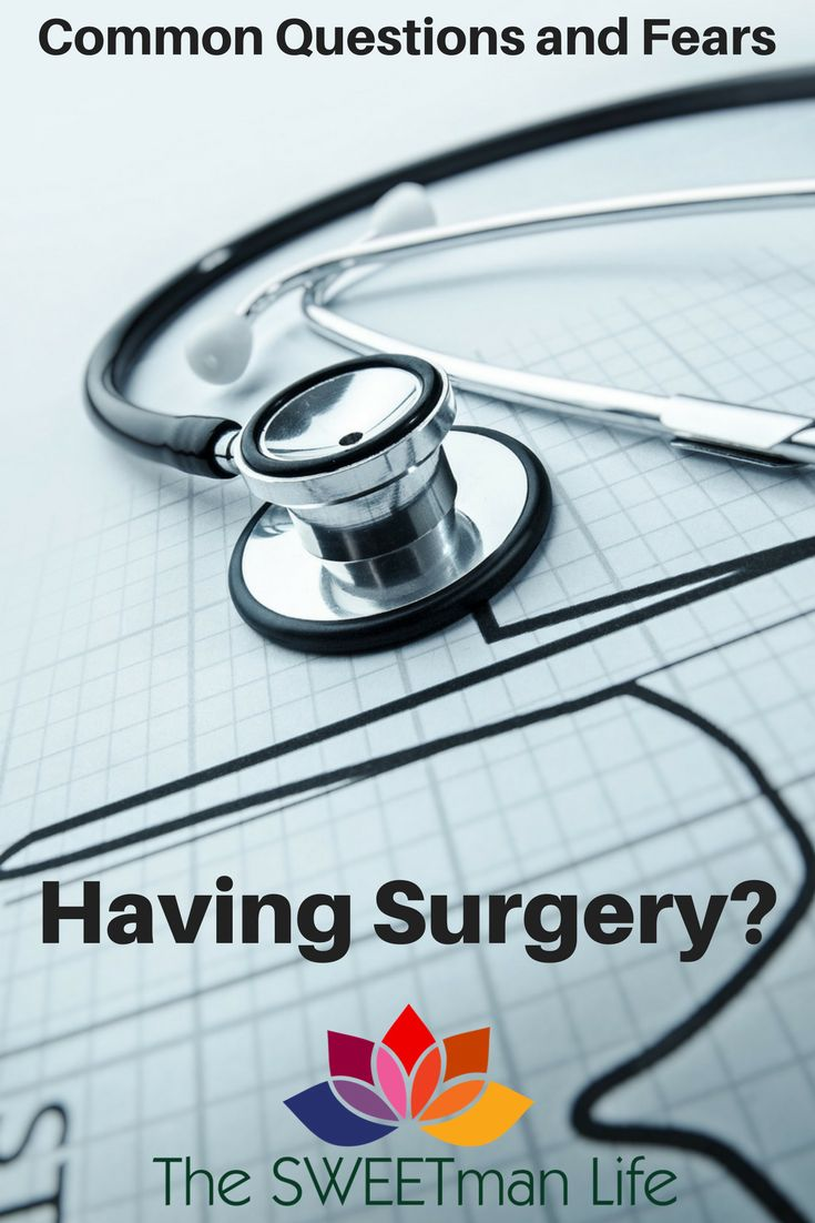 Common questions and fears. Hospitals, surgery, doctors and recuperation. guides from a practiced patient. Surgery and recovery post series and checklists.