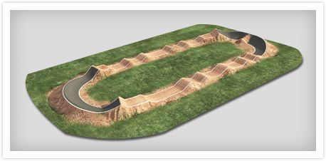 pump track layout - Google Search