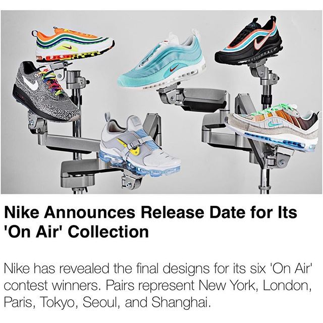 timeless design 0cf6a 89652 NIKE ON AIRCOLLECTION DROPS VIA SNKRS APP. April Can you get more than one  not
