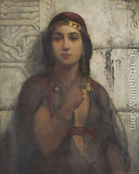 A Gypsy Girl by Vincent G. Stiepevich