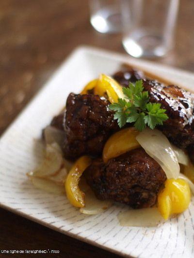 スペアリブ黒酢豚。 by ささきのりこ。さん | レシピブログ - 料理 ...