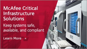 McAfee Healthcare solutions