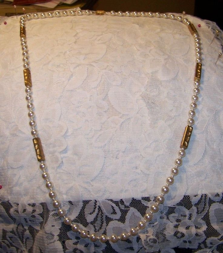 Vintage 3 Strand Yellow Crystal Bead Necklace