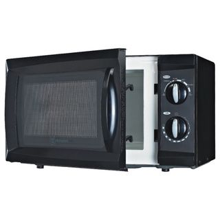 Westinghouse 0.6 Cubic Feet Black Microwave - Overstock™ Shopping - Big Discounts on Microwaves