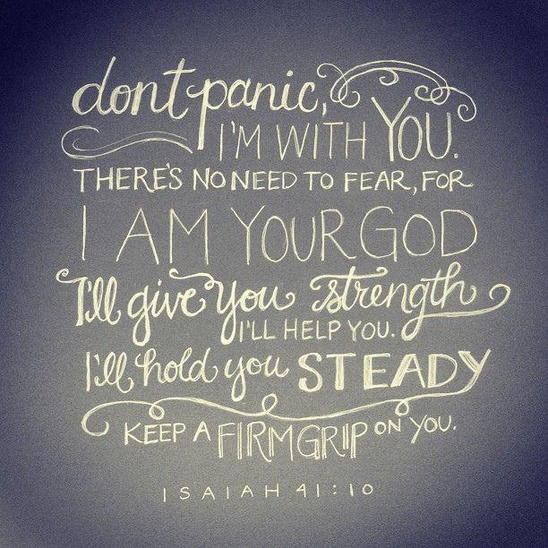 Isaiah 41:10 // by andrearhowey, via Flickr