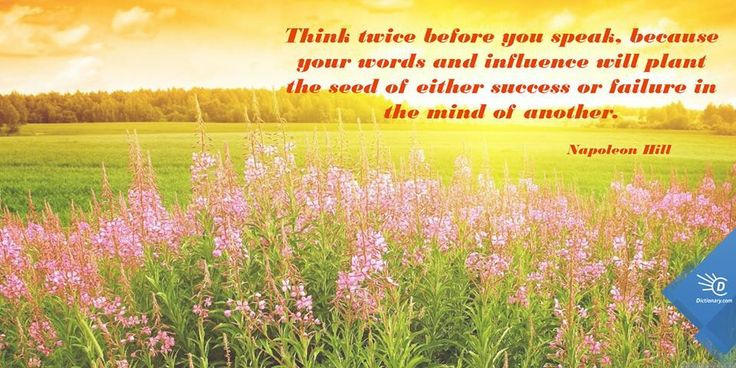 Quote: Think Twice Before You Speak