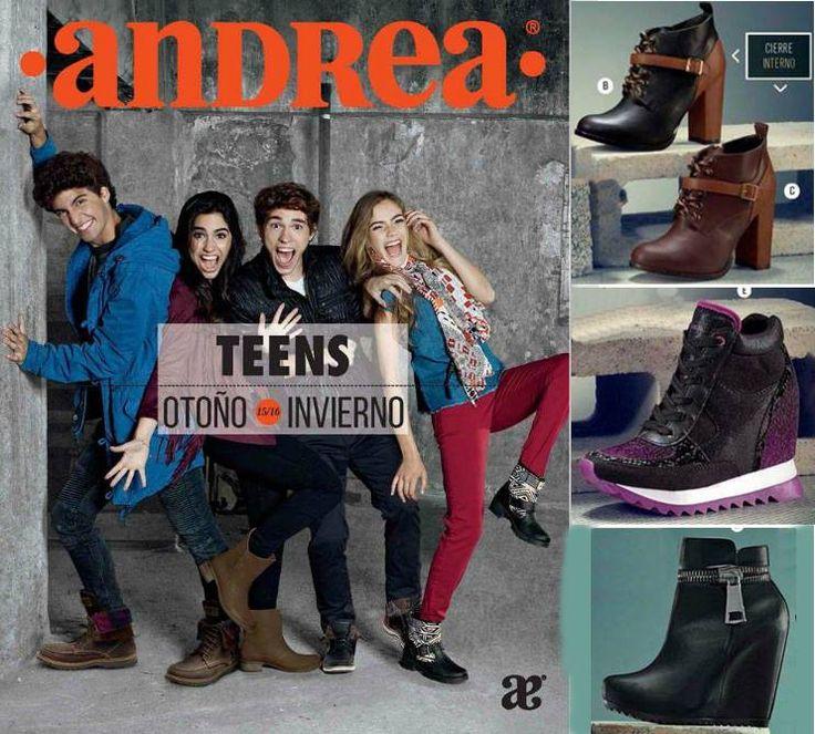Catalogo Andrea Teens Calzado para OI-2015