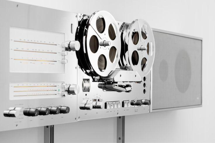 Virgil Abloh Reimagines Braun S Iconic Wandanlage Stereo In 2021 Braun Design Hifi Wall Unit