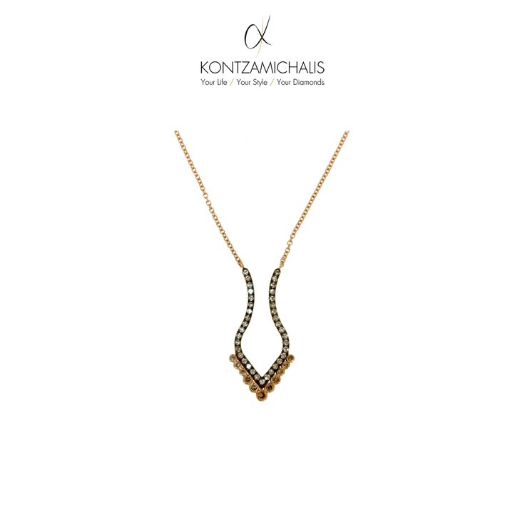 Fancy an elegant and simple piece? This exquisite necklace from our boho collection is all it takes. Match it with the ring of the previous post! #KontzamichalisJewellery