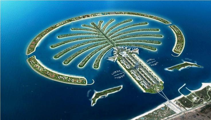 Palm Tree islands, Dubai