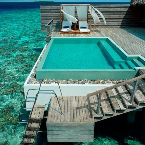 Mejores 140 im genes de arquitectura piscinas pools en for Mejores resorts maldives