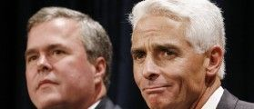 this guy really bugs me! what a whiner- Charlie Crist: I Left The GOP Because Republicans Are Racist. No idiot, you left the GOP because you couldn't beat Rubio.