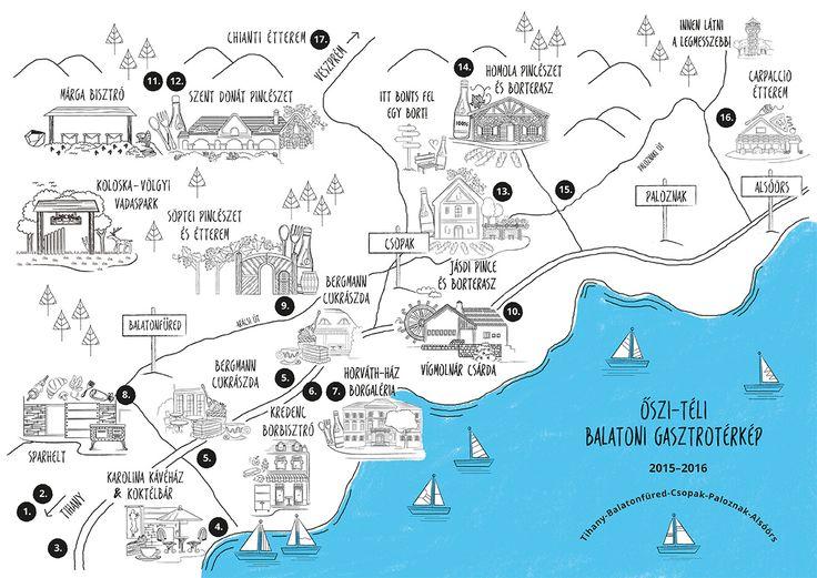 Gasztronómiai kalandok a Balaton északi partján. Balatonfüredtől Alsóörsig