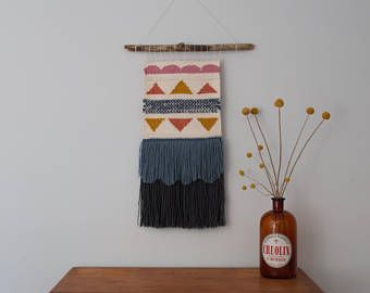 Large Wall Weaving | Loom | Wall Hanging | Tapestry
