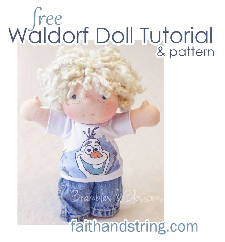Create a Special Friend for Your Child with These Adorable Free Doll Patterns                                                                                                                                                                                 More