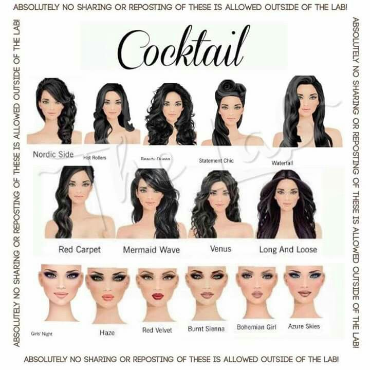 58 Best Covet Makeup And Hairstyle Combos Images On