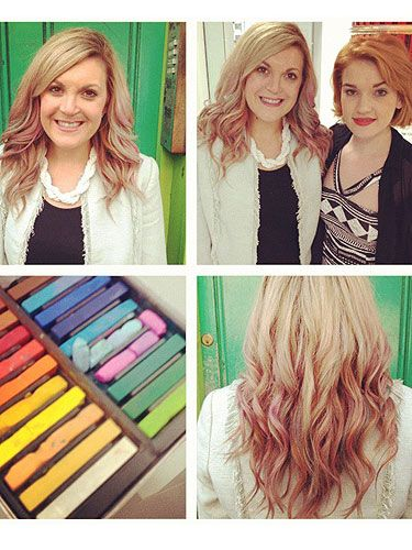 Cosmo tested out 'Hair Chalking' the latest hair colour craze to sweep the nation. Find out more here >> http://www.cosmopolitan.co.uk/beauty-hair/news/hairstyles/cosmo-leanne-bayley-tests-out-hair-chalking-new-hair-colour-trend-and-how-to-guide: Beauty Guru, Cosmopolitan Uk, Hair Styles, Cosmo Tested, Beautiful Hair, Hair Care, Colour Craze, Bayley Hair