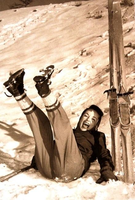 Vintage ski fun