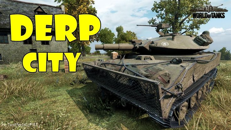 World of Tanks - Funny Moments | DERP CITY! (Population: You)