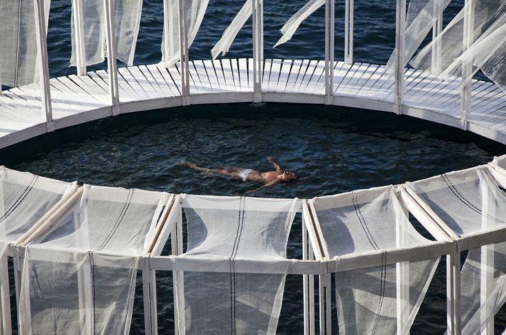 Self-Made Floating Island In Mediterranean Sea Makes You Feel Like In A New Isolated World   Bored Panda