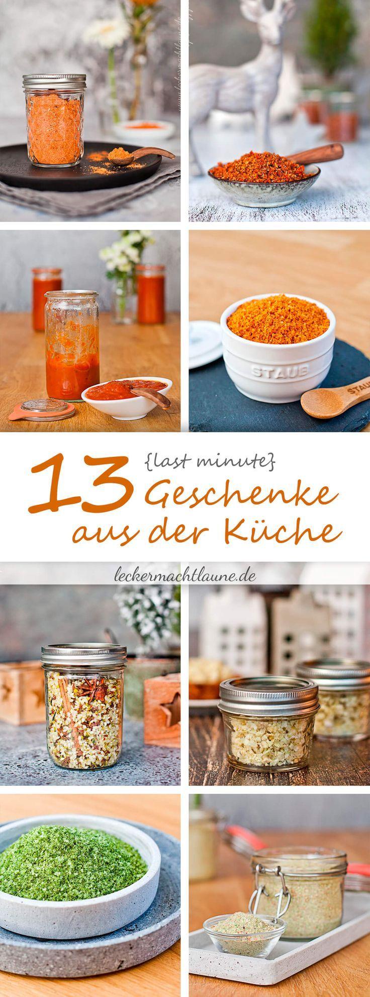 13 Last Minute Geschenke aus der Küche – Annika Riek