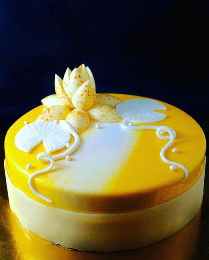 Best 25 gateau miroir ideas only on pinterest glacage for Glacage miroir blanc