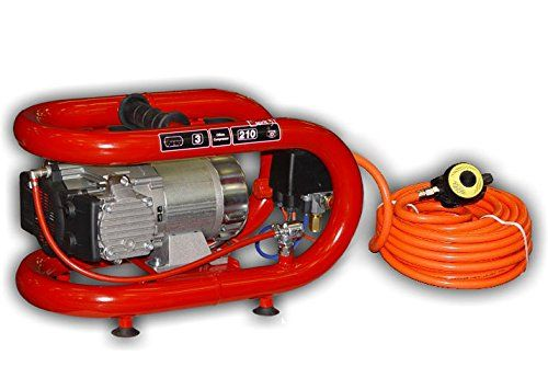 NARDI Esprit 3T Electric Compressor 50' Hose Hookah System Scuba Diving Third Lung Surface Air New