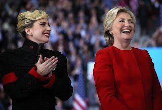 FOTOS HQ: Lady Gaga en el cierre campaña de Hillary Clinton : Hey Lady Gaga