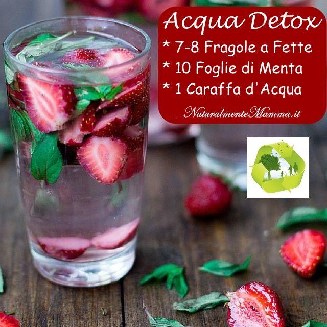 Acqua Detox Fragola Menta