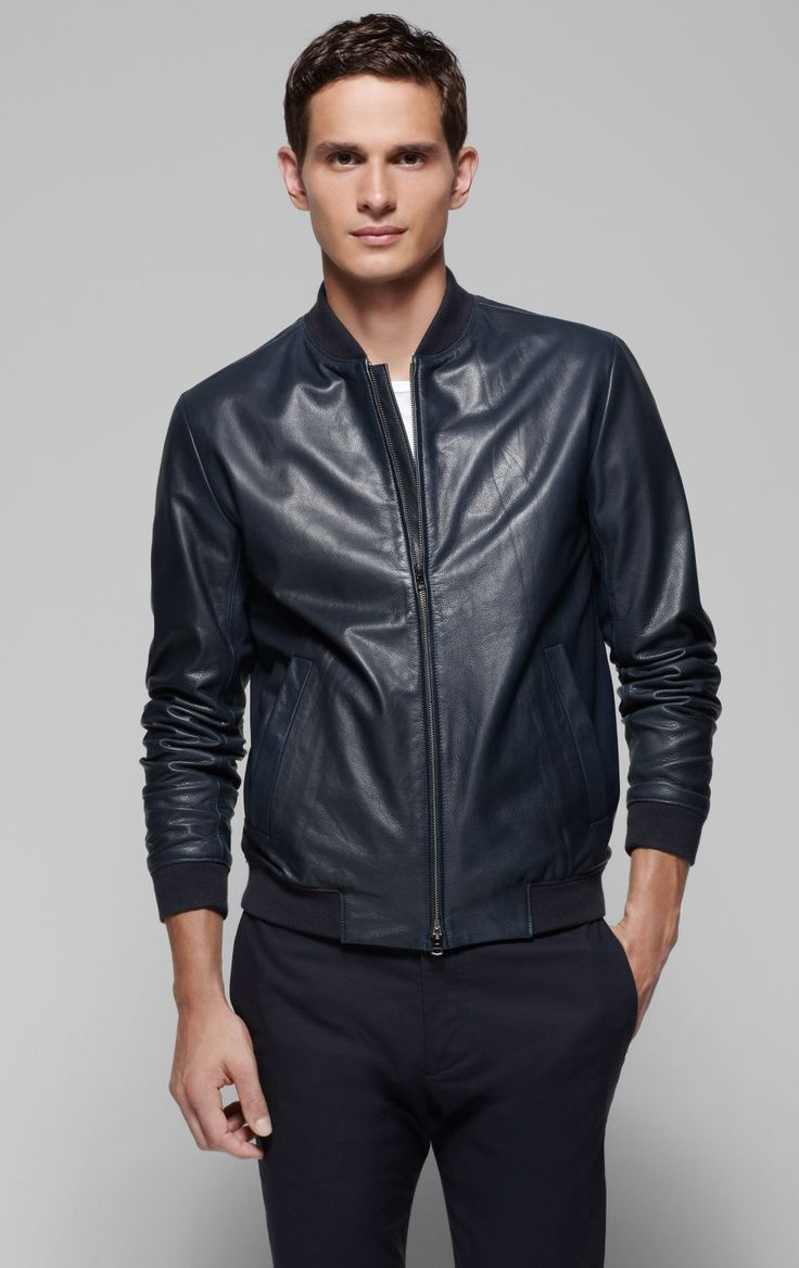 Looking for the Trendy and Smart Leather Jacket? Try out form our collection and enhance your closet now. What really matters is how well the jacket is made to sport the right style, cut and look.